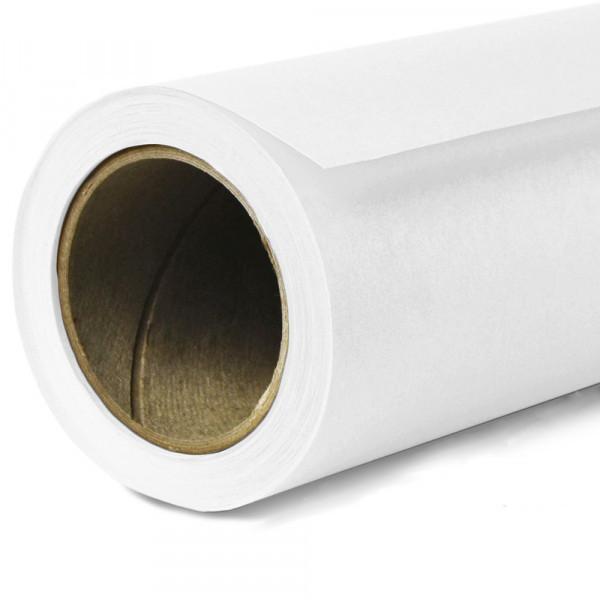 2,72х11м Panorama студийный белый бумажный фон плотность 160г/м2
