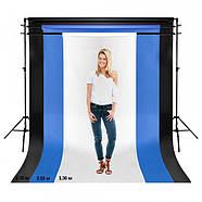 2,72х11м Panorama студийный белый бумажный фон плотность 160г/м2, фото 3