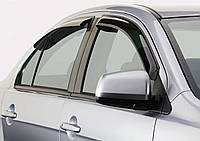Дефлектори вікон (вітровики) Renault Fluence (sedan)(2010-), фото 1