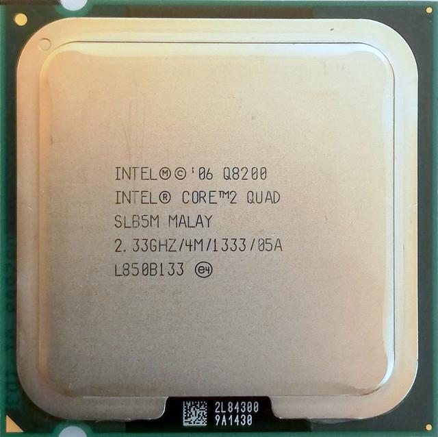 четырехъядерный процессор q8200