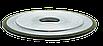Круг алмазний плоский з двостороннім конічним профілем 14ЕЕ1 150х6х3х4х60х32 160/125 АС4 В2-01 БАЗИС, фото 2