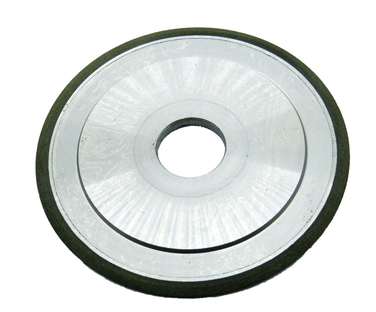 Круг алмазний плоский з двостороннім конічним профілем 14ЕЕ1 150х6х3х4х60х32 160/125 АС4 В2-01 БАЗИС