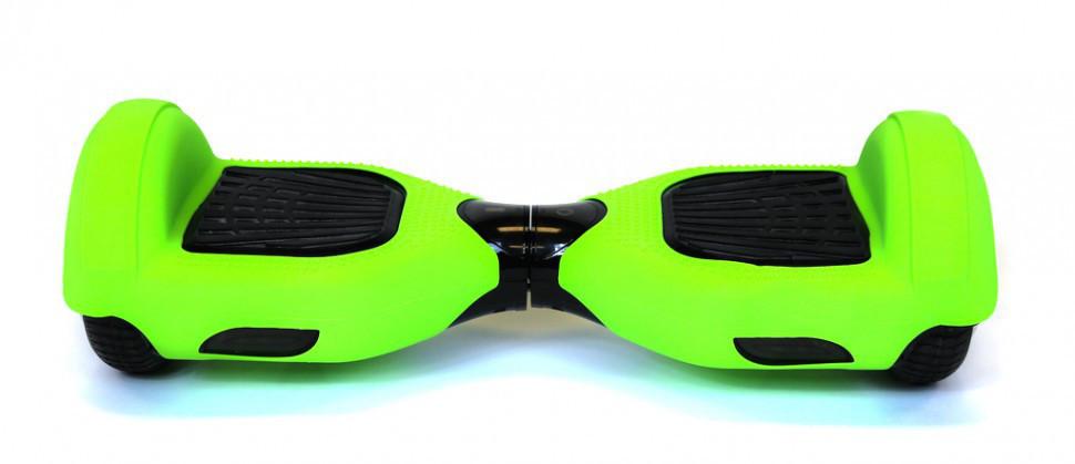 Защитный силиконовый чехол зеленого цвета для гироскутера с диаметром колес 6.5 дюймов