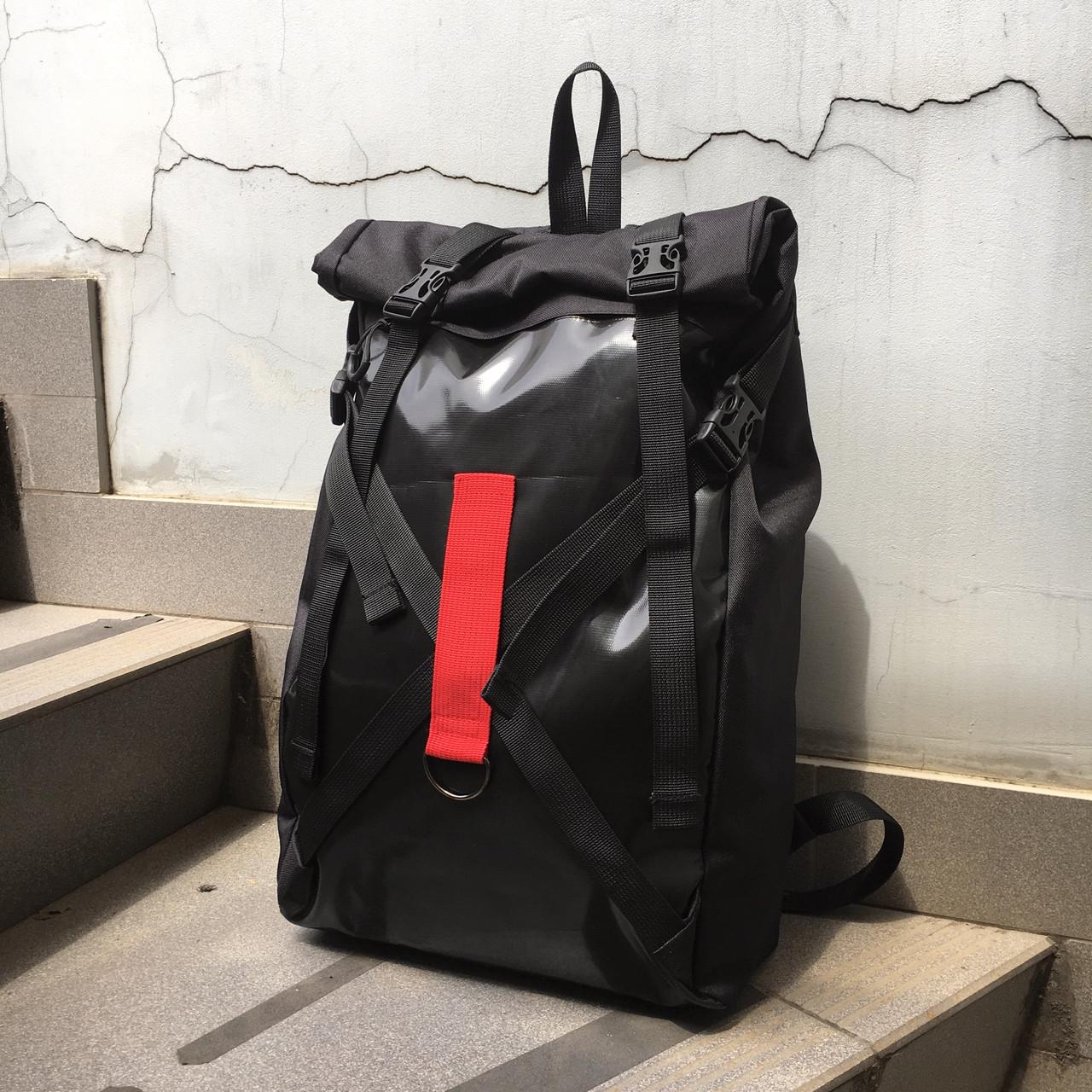Рюкзак роллтоп чёрного цвета бренд ТУР модель Джекс