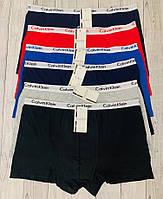 Набор мужских боксеров Calvin Klein 5 шт без коробки тонкая резинка Боксеры трусы кельвин кляйн