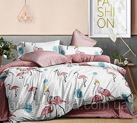 Ранфорс-люкс.Двуспальный комплект постельного белья.