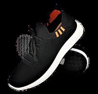 Мужские кроссовки черные в стиле Adidas