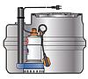 Pedrollo SAR 250-VXm 10/50-I канализационная насосная станция для загрязненной воды