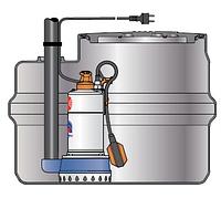 Pedrollo SAR 250 ― RXm3 канализационная насосная станция для чистой воды, фото 1
