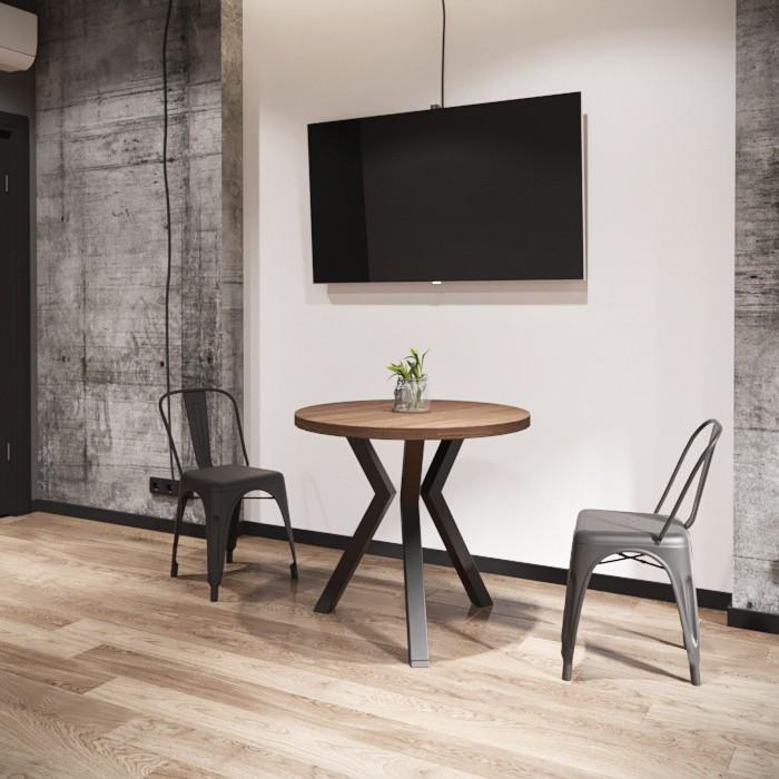 Стол обеденный Свен 3 круглый Металл-дизайн