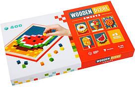 """Мозаїка дерев'яна """"Wooden pixel 6"""" Cubika 14927"""