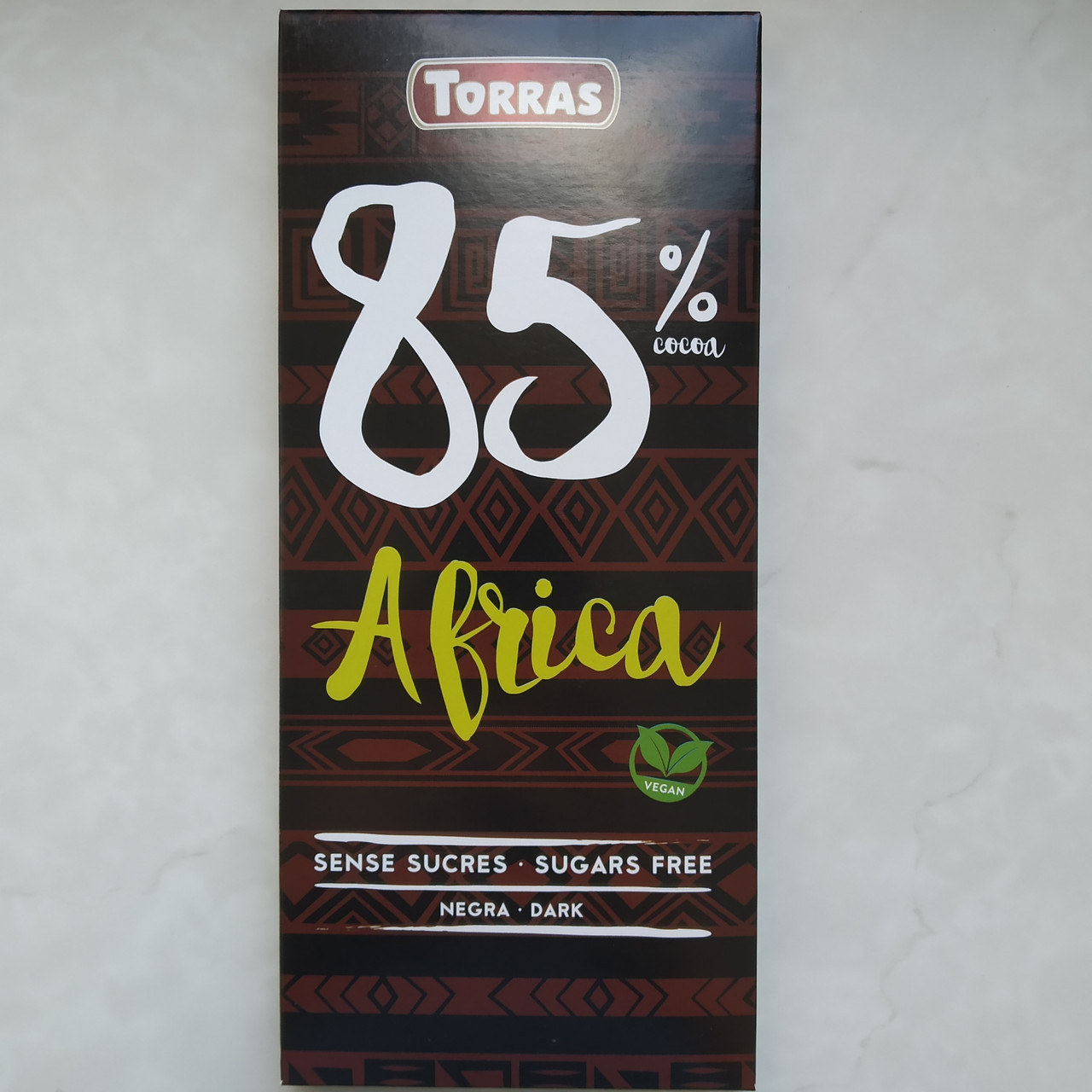 Шоколад TORRAS ZERO 85% Africa (чорний), 100г
