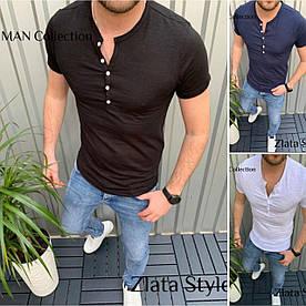 Мужская стильная футболка. Ткань: Кулир Производства Турция. Отменное качество!