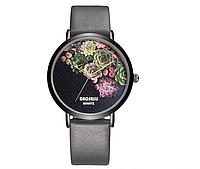 Наручные часы BAOSAILI с серым ремешком код 258