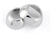 Маска Aozoom, A MAX Shroud, 3.0 inch, silver