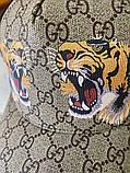 Брендовая бейсболка Gucci Tigers 21312 разноцветная, фото 3