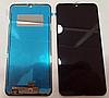 Оригинальный дисплей (модуль) + тачскрин (сенсор) для LG K50 | Q60 (черный цвет)