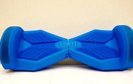 Силіконовий синій чохол для гироскутера 8 дюймів