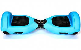 Захисний силіконовий чохол блакитного кольору для гироскутера з діаметром коліс 6.5 дюймів