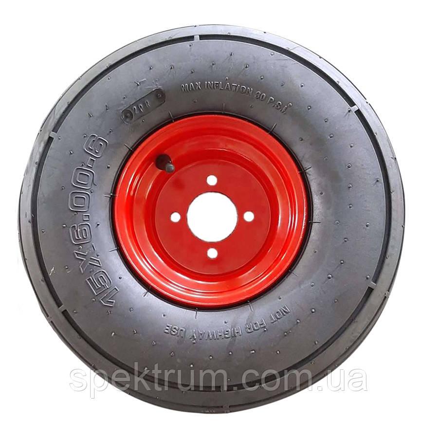 Колесо візка 15х6.00-6 пневматична діаметр 370 мм