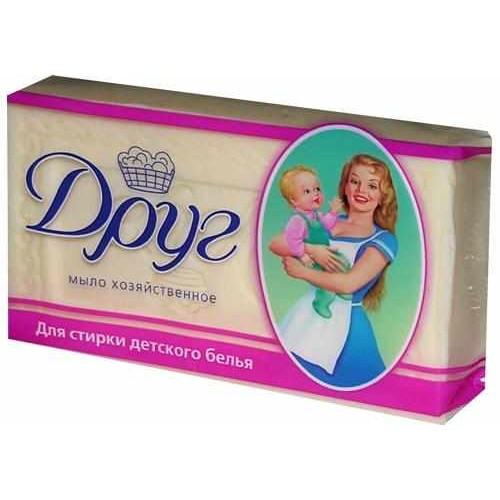 Мыло хозяйственное для детского белья «Друг» 135 гр