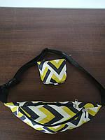 Сумка на пояс BANANA-DOG для прогулок,сумка на пояс бананка,сумка на пояс для бега, фото 2