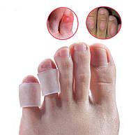 Силиконовая защита от натираний и мозолей на пальцах ног ( напальчник ) 2шт