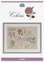 Буклет-схема Coloris - Flowers 15276/22