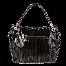 Женская сумка Realer P008 черная, фото 3