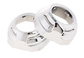 Маска Aozoom, Cayenne Q5 H Shape Shroud, 3.0inch, silver