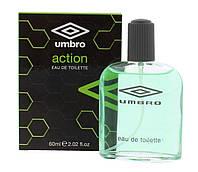 Туалетная вода для мужчин Umbro Action 60ml EDT 01440