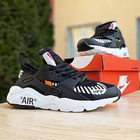 2966 Nike Huarache x OFF White кроссовки женские найк хуарачи найки