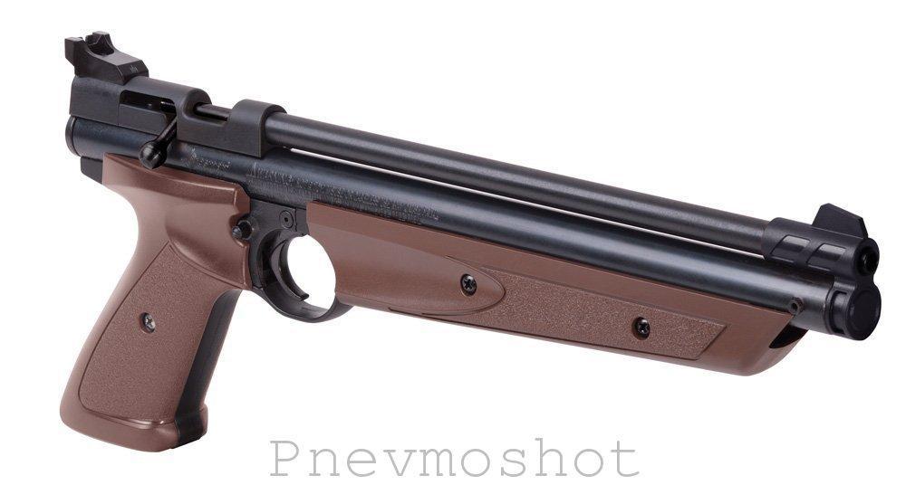 Пістолет пневматичний Crosman P1377BL American Classic мультикомпресійний
