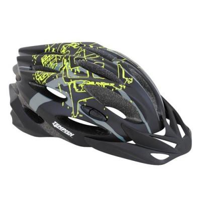Шлем Tempish STYLE, черно-зеленый,S