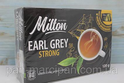 Чай пакетований Milton earl grey Strong 80шт