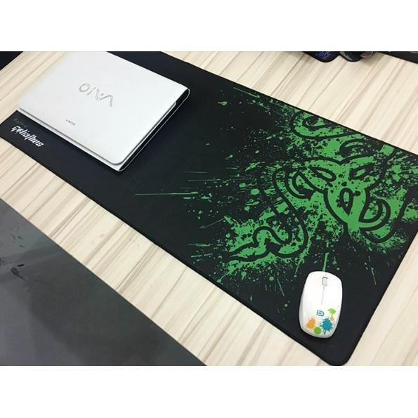 БОЛЬШОЙ геймерский коврик для мышки  и клавиатуры игровая поверхность  RAZER R-900 (90х40см)