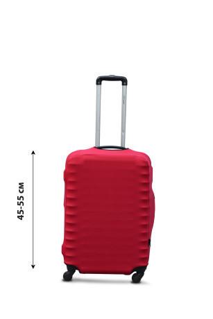 Чехол на чемодан Sweetkeys из дайвинга S красный