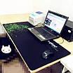 БОЛЬШОЙ геймерский коврик для мышки  и клавиатуры игровая поверхность  RAZER R-900 (90х40см), фото 2