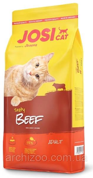 Josera йозера JosiCat Йозикэт 10 кг корм для взрослых кошек с говядиной