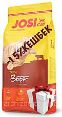 Josera йозера JosiCat Йозикэт 10 кг корм для взрослых кошек с говядиной, фото 3
