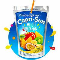 Натуральный Сок Capri Sun Multivitamin Капризон Мультивитамин 200мл Германия