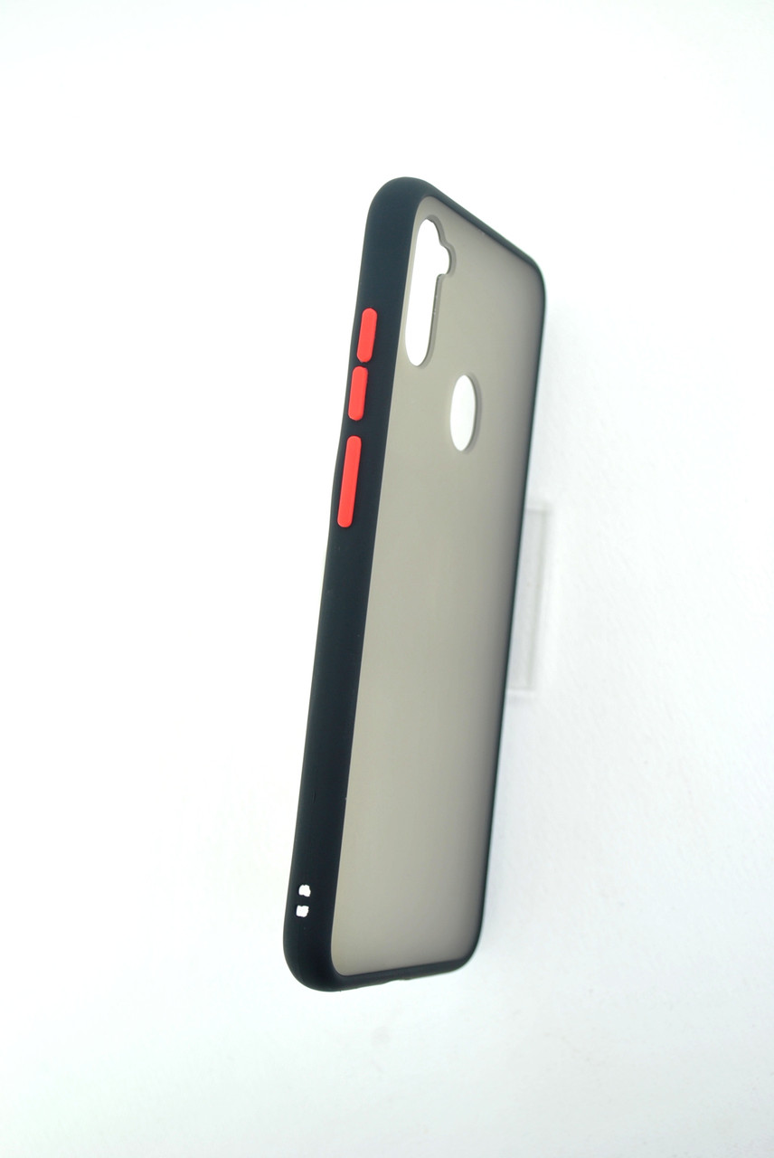 Чехол iPhone 6 /6S Silicon Gingle Matte black/red