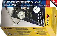 Измеритель артериального давления механический со стетоскопом торговой марки IGAR