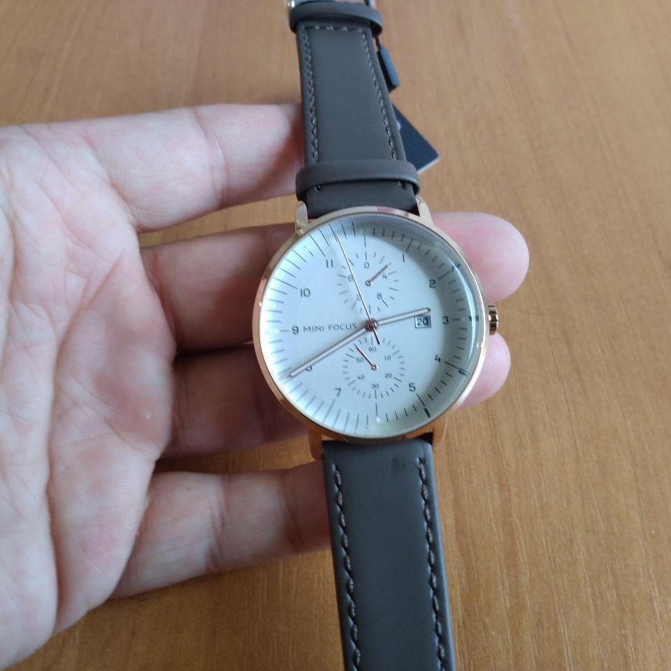 Чоловічі наручні годинники Mini Focus MF0052G.02 Brown-Cuprum-White