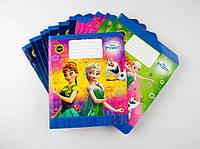 Комплект зошитів Міцар скоба 18 арк лінія Серія Frozen 20 шт 243815, КОД: 902289