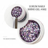 Lukum Nails Shine Gel № 002 5мл