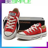 Кеды конверс низкие / Converse all star / Красные