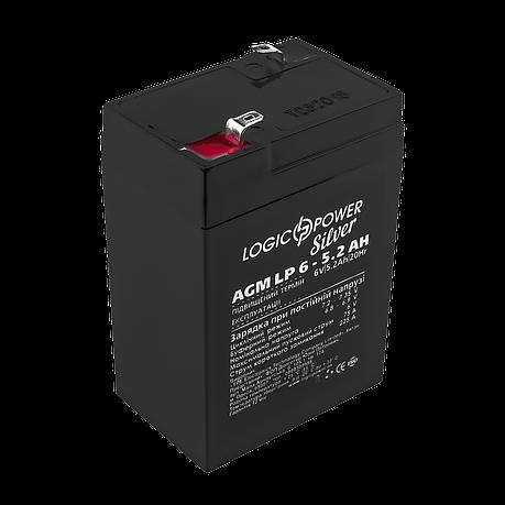 Аккумулятор AGM LP 6-5.2 AH SILVER (2018), фото 2
