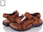 Сандалі чоловічі шкіряні р. 45 світло-коричневі Nike, фото 8