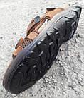 Сандалі чоловічі шкіряні р. 45 світло-коричневі Nike, фото 7